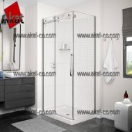 دکوراسیون حمام شیشه ای