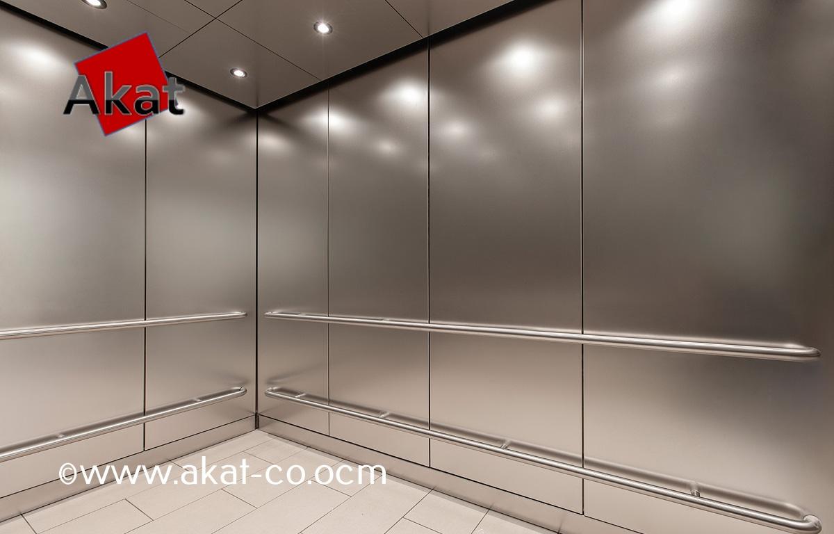 کاور استیل کابین آسانسور