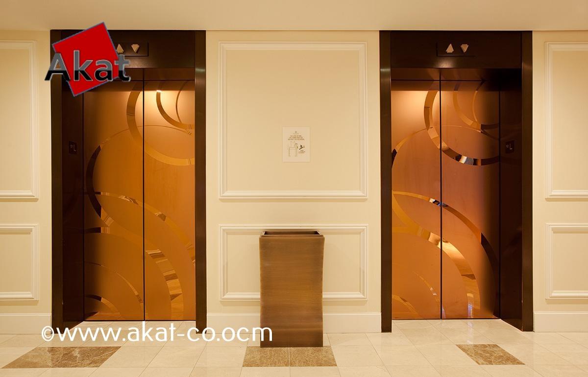 کاوراستیل درب آسانسور