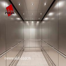 روکش استیل کابین آسانسور