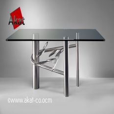 استیل کاری پایه استیل میز