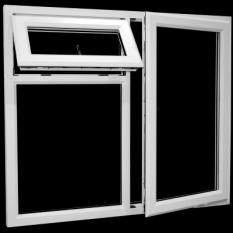 پنجره دو جداره,شیشه دو جداره upvc