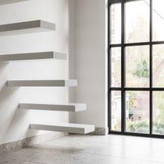 پله معلق،پله معلق چوبی،پله معلق فلزی،پله معلق گرد و دوبلکس