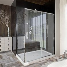 حمام شیشه ای,شیشه حمام,قیمت حمام شیشه ای