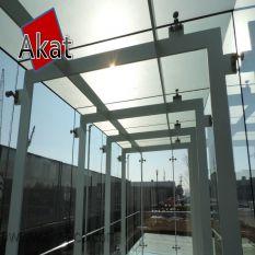 شرکت آکات مجری انواع نمای اسپایدر شیشه ای